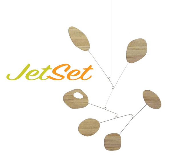 colorful hanging mobile BAMBOO