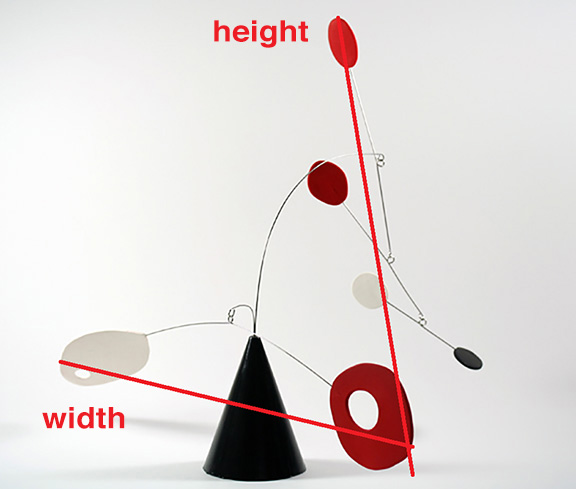 height width guide
