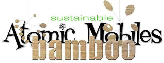 Bamboo Sustainable Art  Mobiles